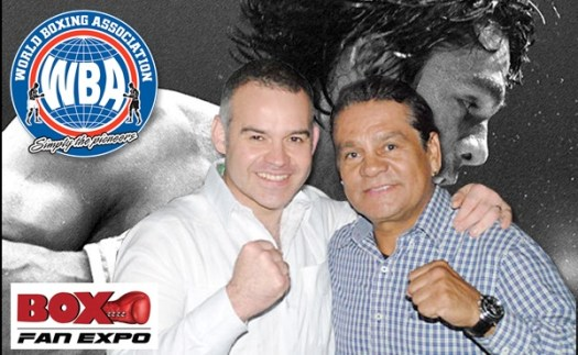 Hall-of-Famer Roberto Duran and the WBA confirmed for second annual Box Fan Expo