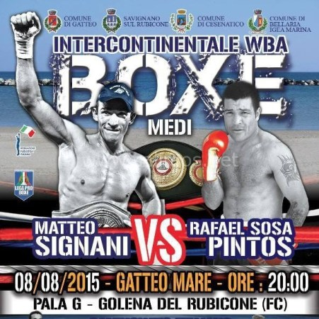 WBA Doubleheader in Italy and Uruguay