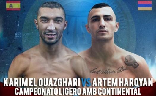 Karim El Ouazghari vs Artem Haroyan ya tiene fecha, sede y título en disputa