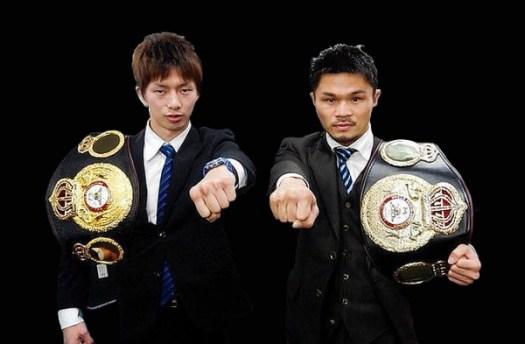 Kono and Taguchi Defend WBA Belts