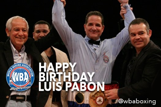 Happy Birthday, Luis Pabon!