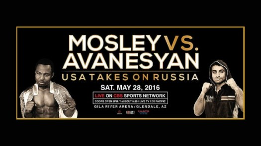 David Avanesyan Defends WBA Title Against Shane Mosley