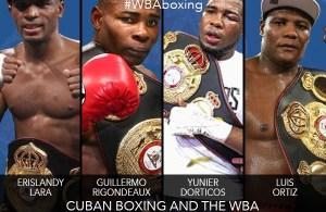 Cuban Boxing and the WBA