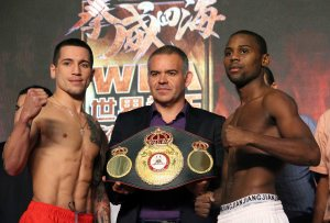 Boxers Make Weight in China