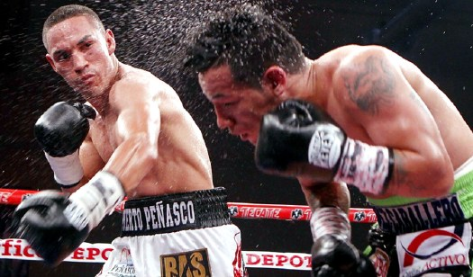 In his last bout Estrada knocked out Hernan Marquez at 1:16 of round 10. (Photo: Courtesy)
