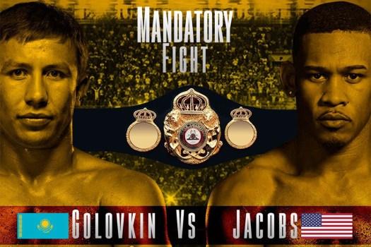 Golovkin-Jacobs y Rigondeaux-Flores a subasta el 19 de diciembre