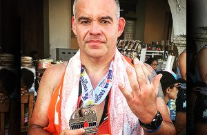 Gilberto Jesús Mendoza culmina Ironam 70.3 de Cartagena