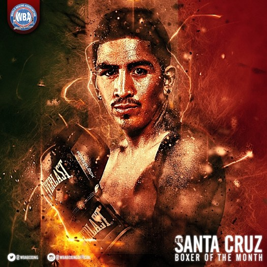 Leo Santa Cruz WBA Featherweight Super Champion - Boxer of the Month - January 2017