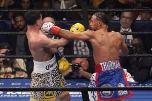 Thurman impone su boxeo ante García