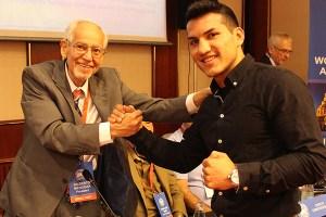 Culcay dedicates his fight to Gilberto Mendoza