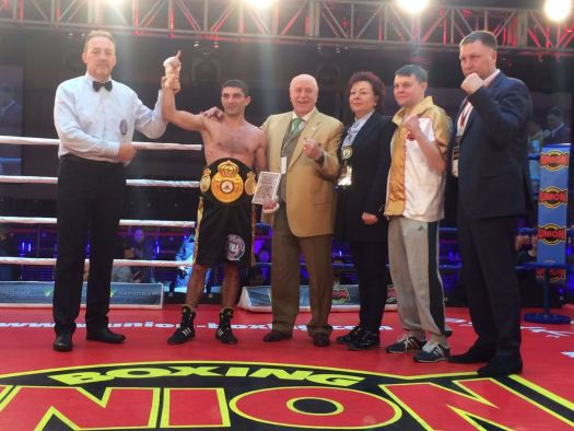 Dalakian, Yegorov and Yefimovych defended their WBA Continental Titles in Ukraine