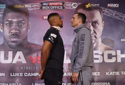 Klitschko and Joshua go face to face at press conference