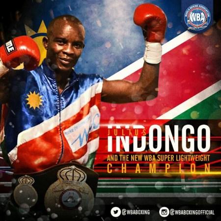 Indongo, nuevo campeón Súper Ligero AMB