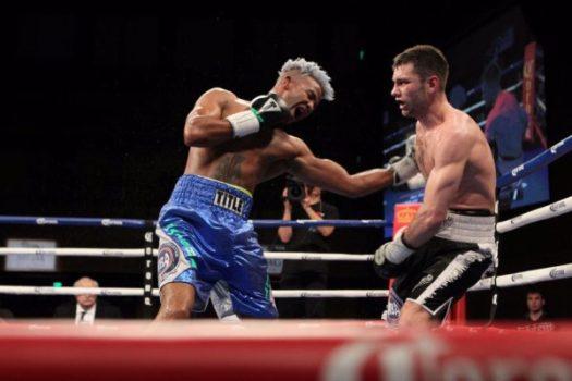 Barthelemy gana combate eliminatorio AMB. Foto Showtime