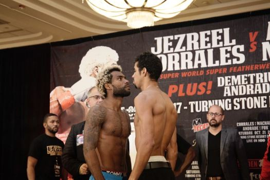 Jezreel Corrales misses weight in Veron