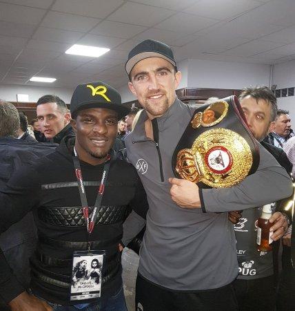 Ball wins WBA-Intercontinental belt