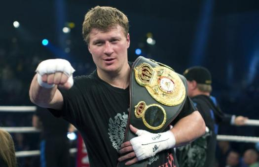 Povetkin is Anthony Joshua's number one challenger