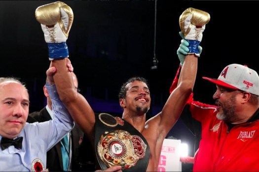 Alberto Machado vs. Rafael Mensah goes to purse bids