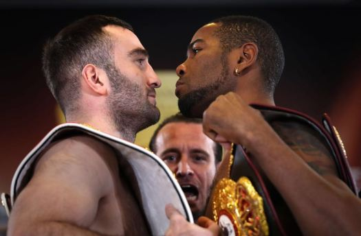 Dorticos and Gassiev make weight for their world title fight in Russia