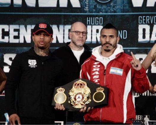 Davis and Cuellar Final Press Conference. Photo: Marcelino Castillo.