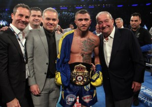 Lomachenko is in pursuit of another great victory in the ring