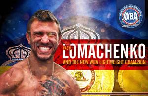 Vasyl Lomachenko – Boxer of the month – May 2018