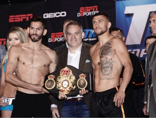 Lomachenko and Linares Make Weight