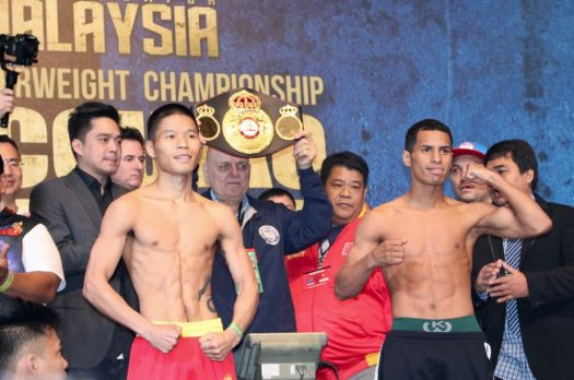 Canizales and Lu Make Weight in Malaysia