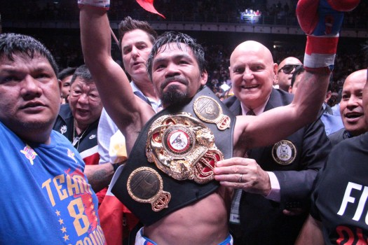 Pacquiao Wins a Thriller in Malaysia