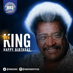Feliz cumpleaños, Don King