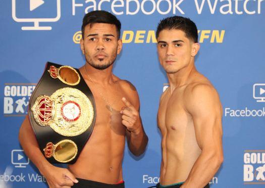 Rojas makes weight; JoJo Diaz misses