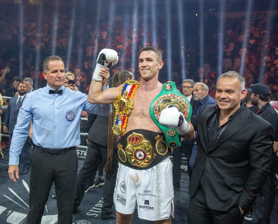 Callum Smith Is The New Wba Super Champion With Ko Over Groves &Ndash; World Boxing Association
