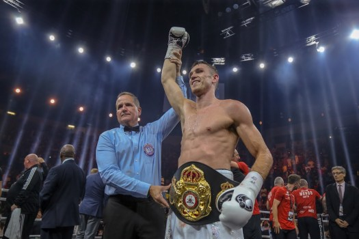 Callum Smith – WBA Honorable Mention September 2018
