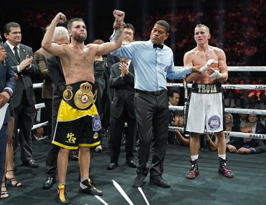 Relikh retains WBA title with decision over Troyanovsky. Photo: WBSS