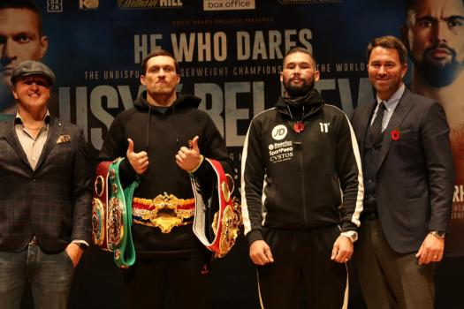 Usyk and Bellew promise epic battle