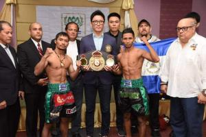 Niyomtrong and Rojas surpass the scale in Thailand