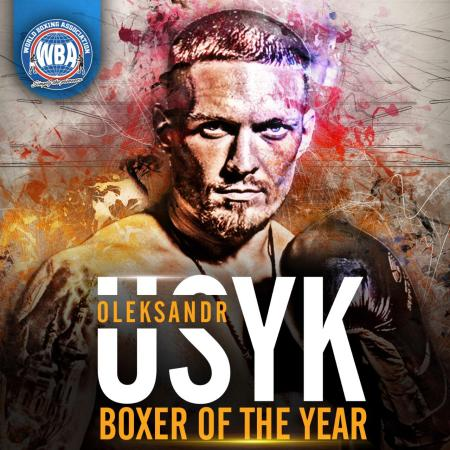 Oleksandr Usyk is the WBA Boxer of the Year