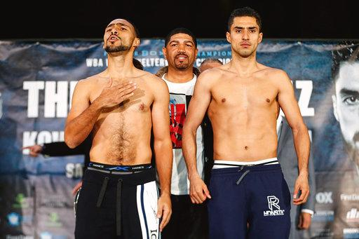 Thurman and Lopez succeded at weigh in, in Brooklyn