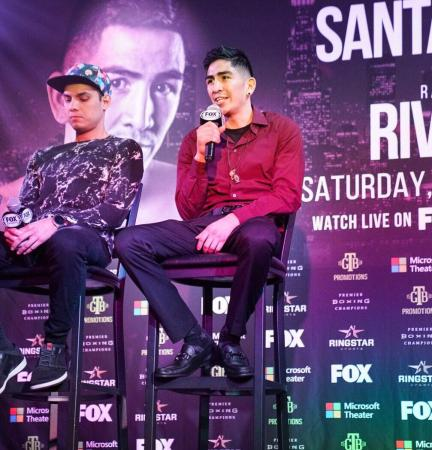 Santa Cruz looks to motivate his father with a victory
