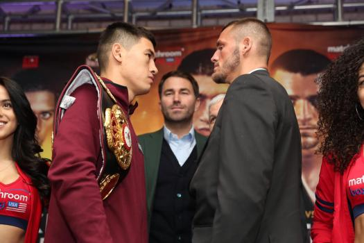 Bivol and Smith hold final presser in New York