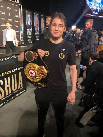 Katie Taylor ready for stiff test against Persoon