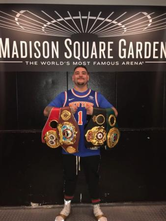 Andy Ruiz gave his opinion on a possible Joshua-Fury fight