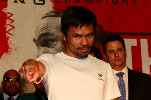 Only Pacquiao knows who his next opponent will be