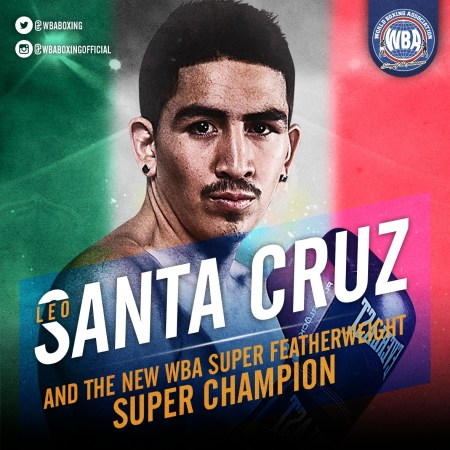 Santa Cruz grabs his 4th divisional World Title with the WBA belt