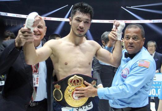 Murata TKO's Butler in five to retain WBA Title