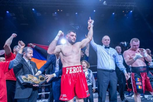 World of Boxing won the rights to promote Goulamirian – Egorov title fight