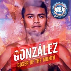 Román González– Boxeador del mes de Febrero 2020