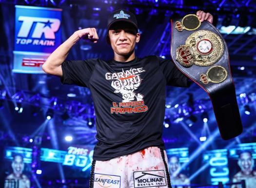 Franco was named mandatory challenger for the winner of the Estrada-Gonzalez fight.