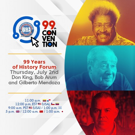 The history told by Bob Arum and Don King on the second day of the 99th WBA Convention