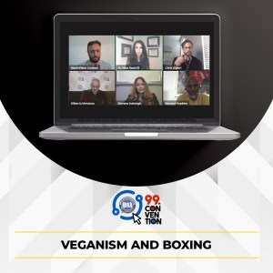 Different opinions were discussed during the Veganism and Boxing Forum